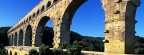 Historic Pont du Gard, Gard River, France - Facebook Cover