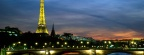 La tour Eiffel de nuit, Paris, France - Facebook Cover