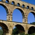 Pont du Gard, France - Facebook Cover