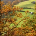 Saint Engrace en automne, Zuberoa, Pays Basque, France - Facebook Cover