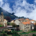 Village de l'Alta Roca, Corse, France - Facebook Cover