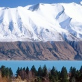 Cover FB  Lake Pukaki and the Ben Ohau Range, Near Mount Cook Station, New Zealand