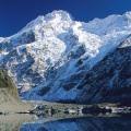 Cover FB  Mount Sefton Reflected in Mueller Glacier Lake, Mount Cook National Park, New Zealand