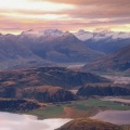 Cover FB  Sunset Over Lake Wanaka From Mount Roy, Mount Aspiring in the Distance, Central Otago, New Zealand