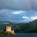 Cover FB  Rainbow Above Eilean Donan Castle, Highlands, Scotland
