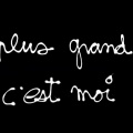 mon plus grand soucis... - Couverture Facebook Citation