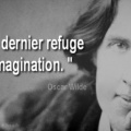 Citation Oscar Wilde - Facebook Couverture