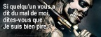 Je suis pire - Citation Facebook Couverture