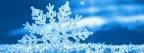Flocon de Neige - Couverture Facebook