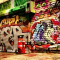 Graffiti garage - Street Art