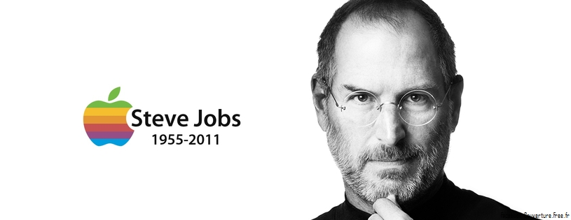 Apple FB Couverture Steve Jobs Memoire