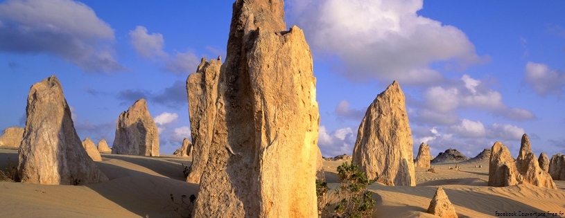 Cover FB  Pinnacles Desert, Nambung National Park, Australia