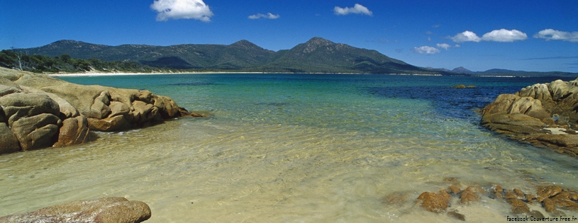Cover FB  Promise Bay From Hazards Beach, Freycinet National Park, Tasmania, Australia
