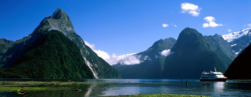 Cover FB  Mitre Peak, Milford Sound, New Zealand