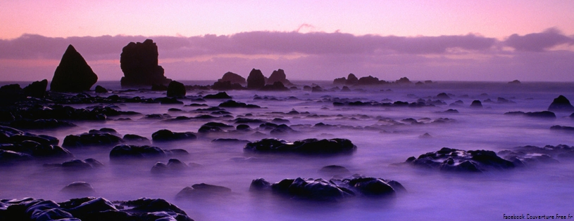 Cover FB  Rising Tide at Sunset, South Island, New Zealand