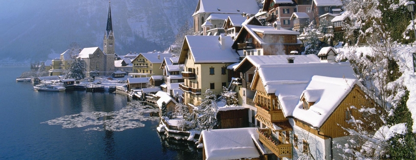 Cover FB  Hallstatt in Winter, Austria