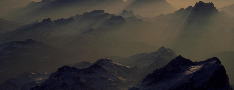 Cover FB  Misty Peaks, Alps, Austria