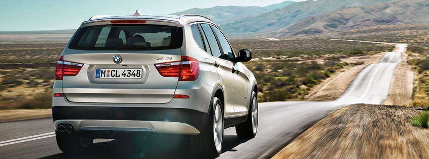 BMW X3 Facebook Cover 05