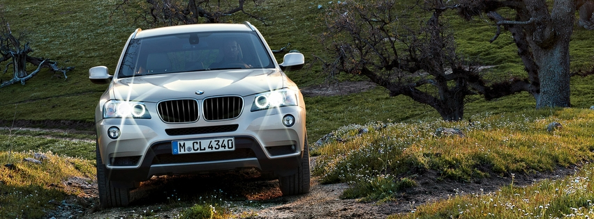 BMW X3 Facebook Cover 11