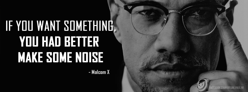 If you want something  - Malcolm X.jpg